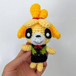 PATRON GRATIS ISABELLE | ANIMAL CROSSING AMIGURUMI 37516