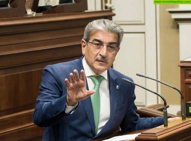 Rodríguez demanda al Estado una mayor adaptación de las medidas anticrisis a las necesidades de Canarias