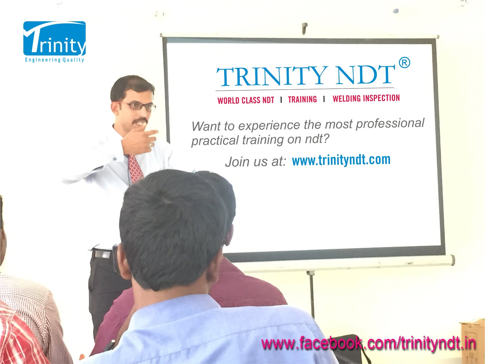 Trinity NDT - Certification Courses