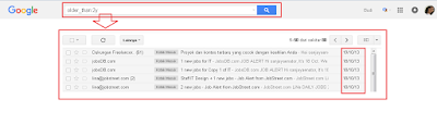 Cara Mencari Email Lama