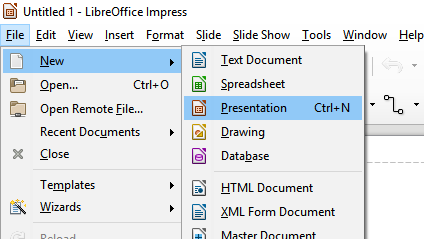 Working With Presentations   LibreOffice Impress 5.2 - Pinfo   Your ...
