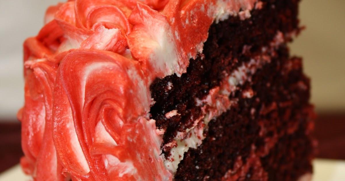 Southern Red Velvet Cake How Red Happens