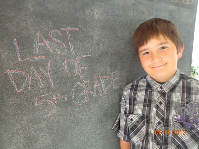 Last day of school (5th grade)