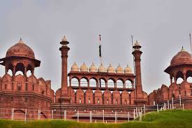 A Historical Building The Red Fort