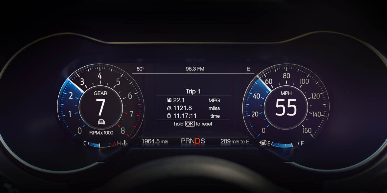 Ford Hides Easter Eggs In 2018 Mustang S Digital Dash