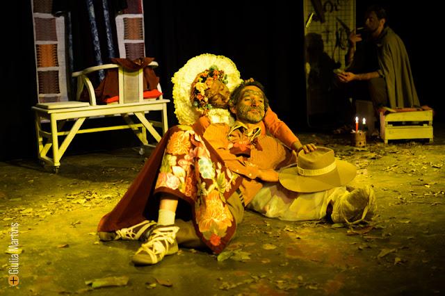 Produção do Núcleo Teatral Opereta, Almas Peregrinas - Foto: Giulia Martins