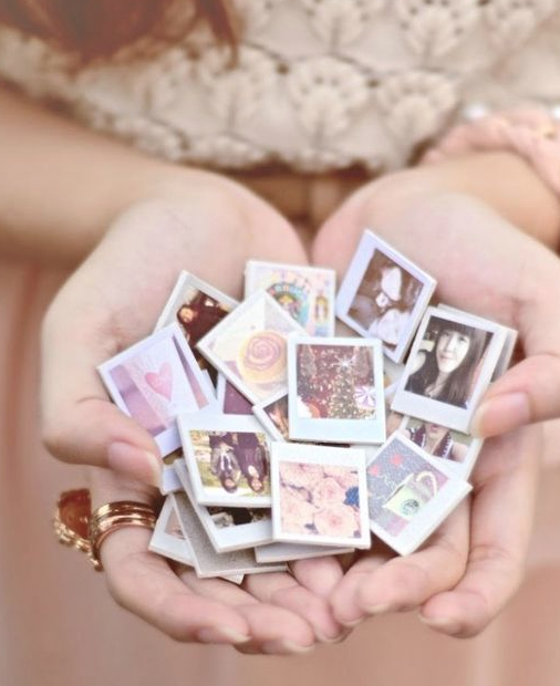 diy mini photo magnets