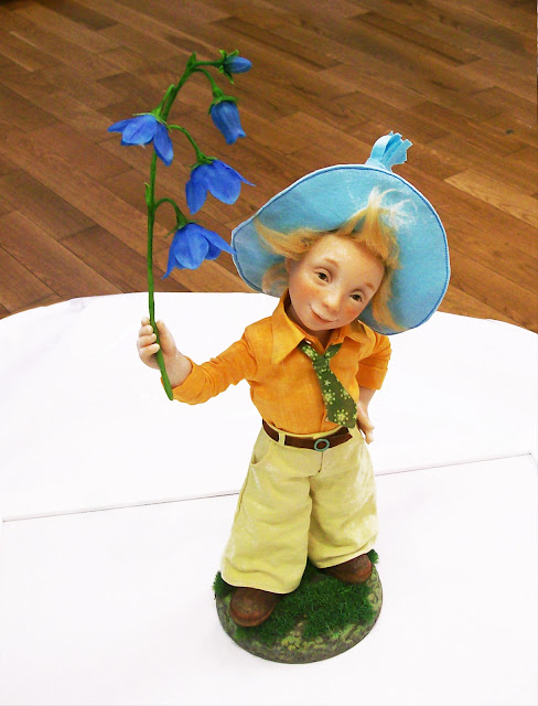 """Татьяна Малушкина (Самара)  """"Дарю цветочек от души!"""" Выставка авторской куклы в Самаре """"Куклы. Эмоции. Чувства."""""""