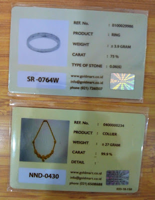 sertifikat perhiasan emas goldmart