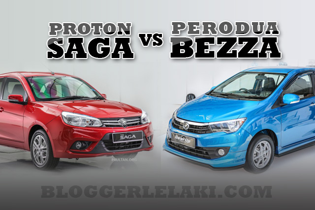 Proton Saga Premium (2016) Vs Perodua Bezza Advance