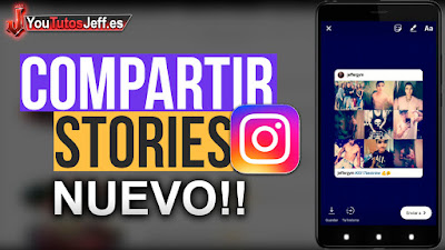 Comparte cualquier publicacion de instagram en tus stories de forma simple, es una de las nuevas funciones que implementa instagram en su plataforma.