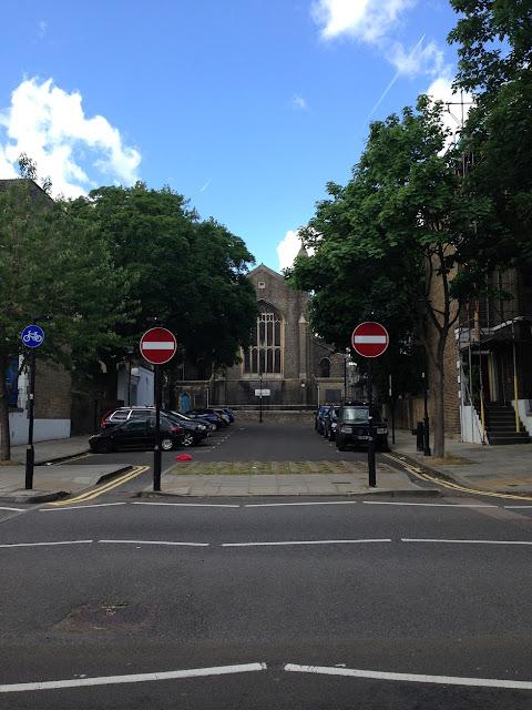 Unidentified church, Islington, London N1