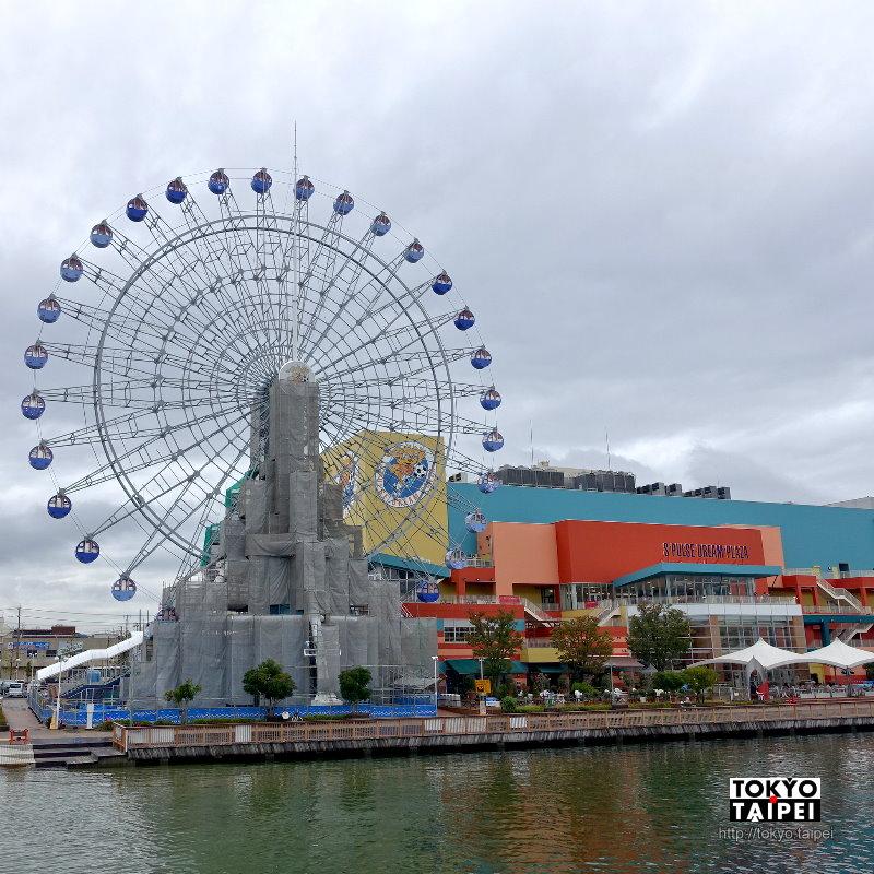 【S-Pulse夢幻廣場】清水港旁購物中心 有摩天輪和許多小博物館