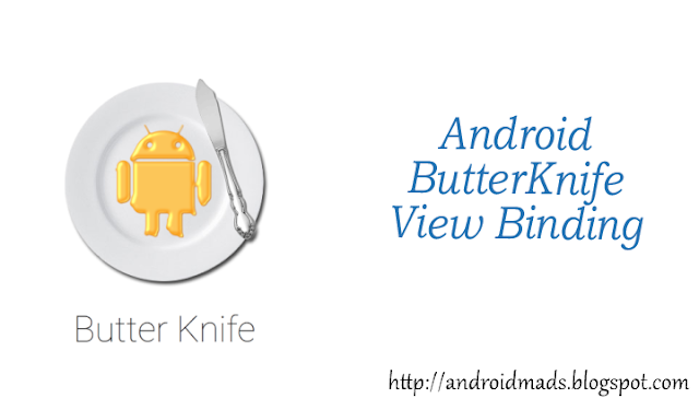 Android ButterKnife View Binding