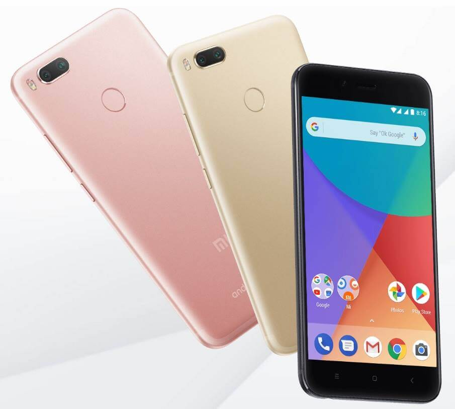 Xiaomi Mi A1 Android One Smartphone Goes Official