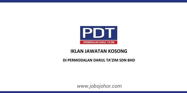 Jawatan Kosong Permodalan Darul Ta'zim Sdn Bhd Terkini Jun 2016