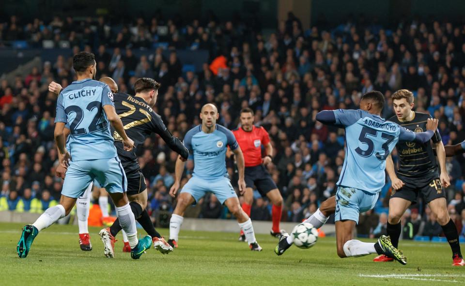 نتيجة مباراة مانشستر سيتي وموناكو 3-1 اليوم الاربعاء 15-3-2017 فى دوري أبطال أوروبا