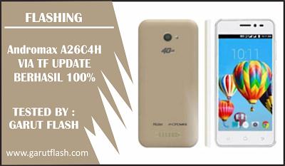 Cara Flash Andromax A26C4H TF Update 100% Berhasil