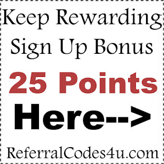 Keep Rewarding Promo Code 2017, Keep Rewarding Sign Up Bonus 2017, KeepRewarding.com Reviews