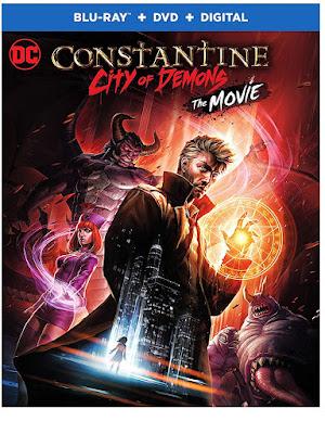 Constantine City Of Demons The Movie Blu Ray