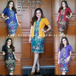 rok pendek batik modern