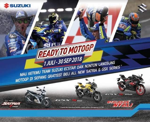 Nonton Motogp Gratis Sama Suzuki