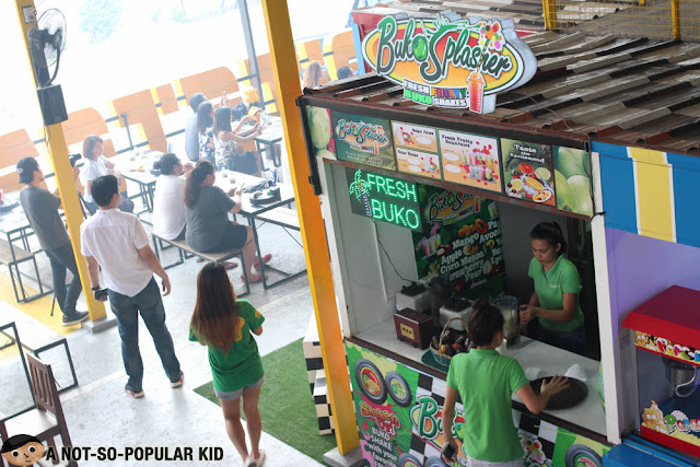 Buko Splasher in Pitstop Foodpark