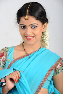 Actress Anu Upadhyaya Pictureshoot Gallery in Traditional Half Saree  0001.jpg