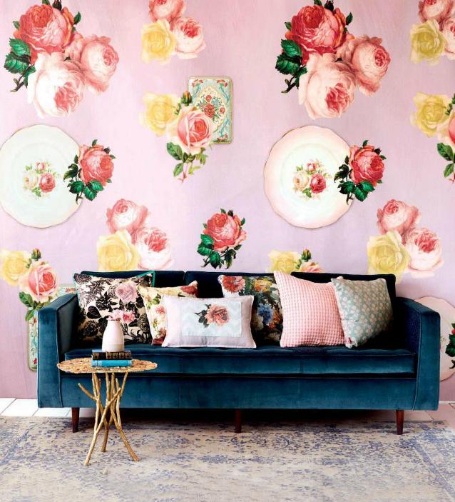 3 Floral Home Decor DIYs From Ideas Magazine.