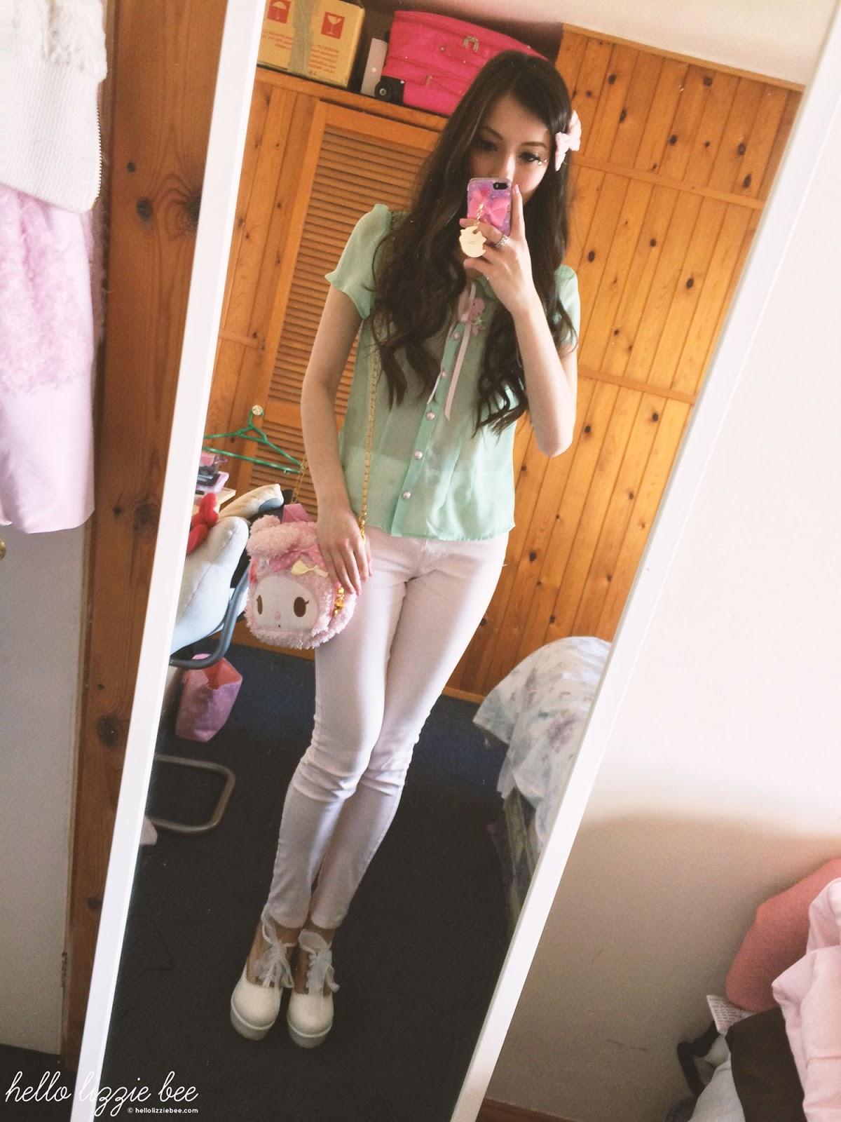 pastel mermaid outfit