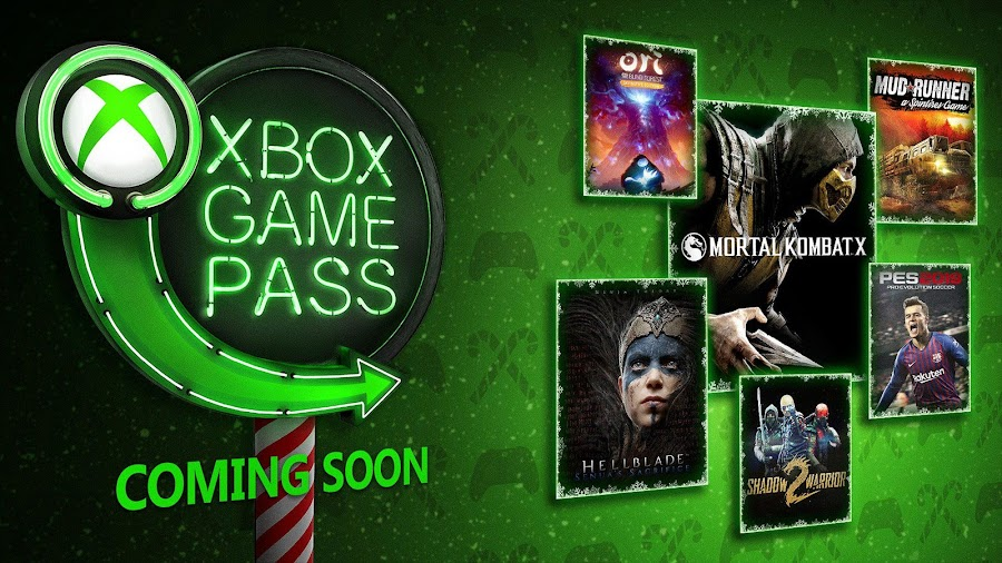 xbox game pass mortal kombat x hellblade the game awards 2018