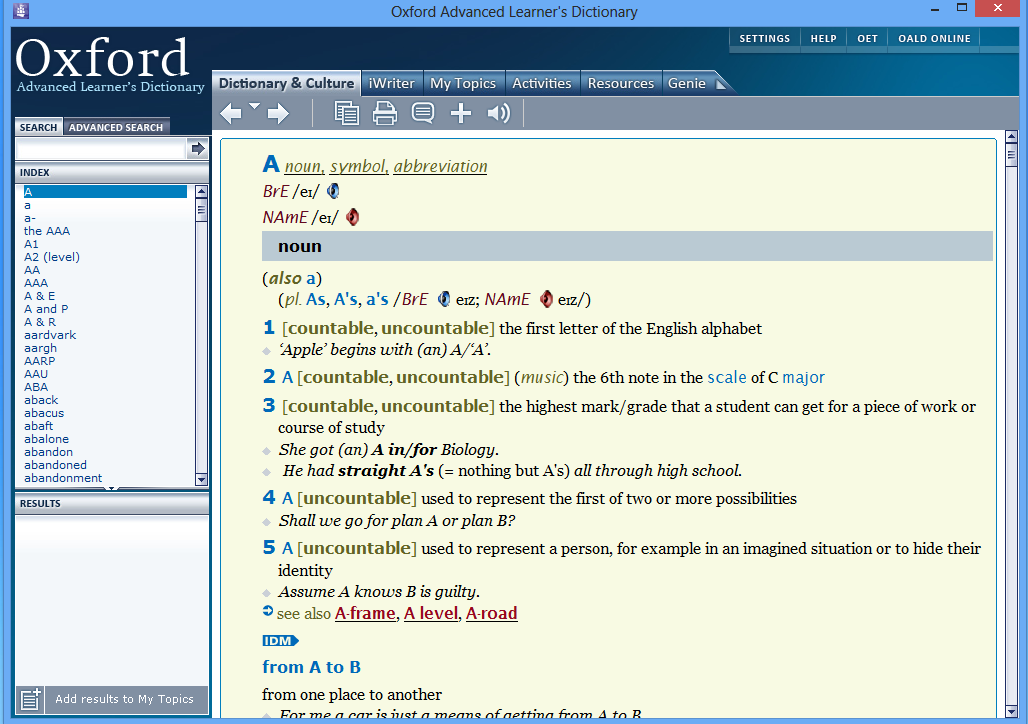 free download dictionary english to english for windows 7