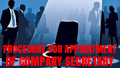 Procedure-Appointment-Company-Secretary-companies-act-2013