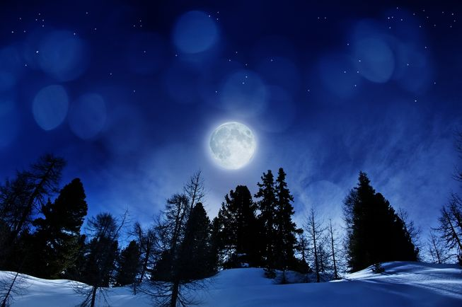 Pretty Falling Angel Wallpaper 1920x1080 Retro Kimmer S Blog Full Moon On Christmas First Since 1977