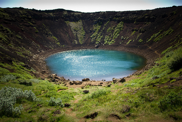 Kerid Crater Lake, Iceland