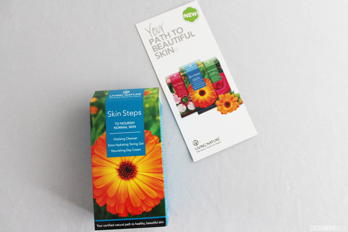 LIVING NATURE // Skin Steps Kits - CassandraMyee