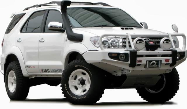 Gambar Toyota Fortuner Modifikasi Cutom Design  Mobil