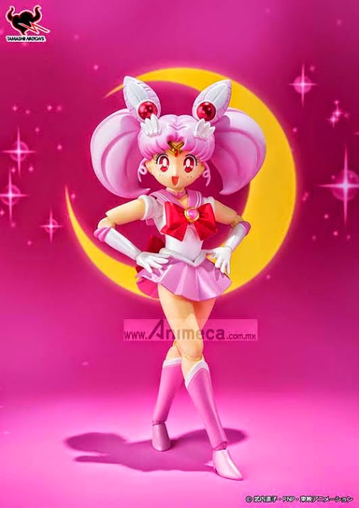 SAILOR CHIBI MOON S.H.Figuarts FIGURE Bishoujo Senshi Sailor Moon BANDAI
