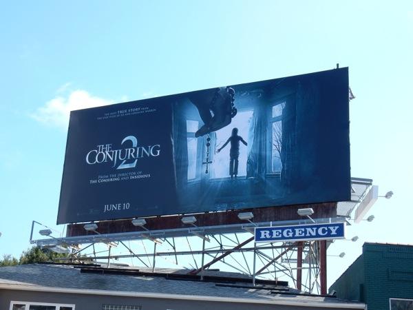 Conjuring 2 movie billboard