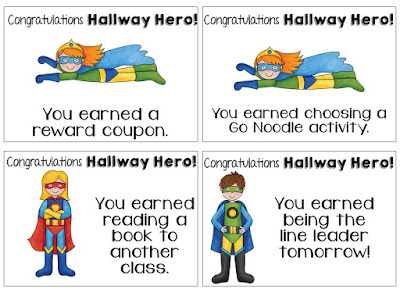motivating behavior management strategy to help your students be respectful and well behaved citizens in the hallway