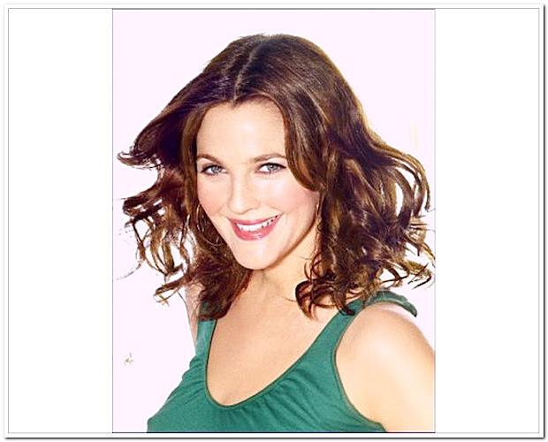 celebrity hairstyles drew barrymore