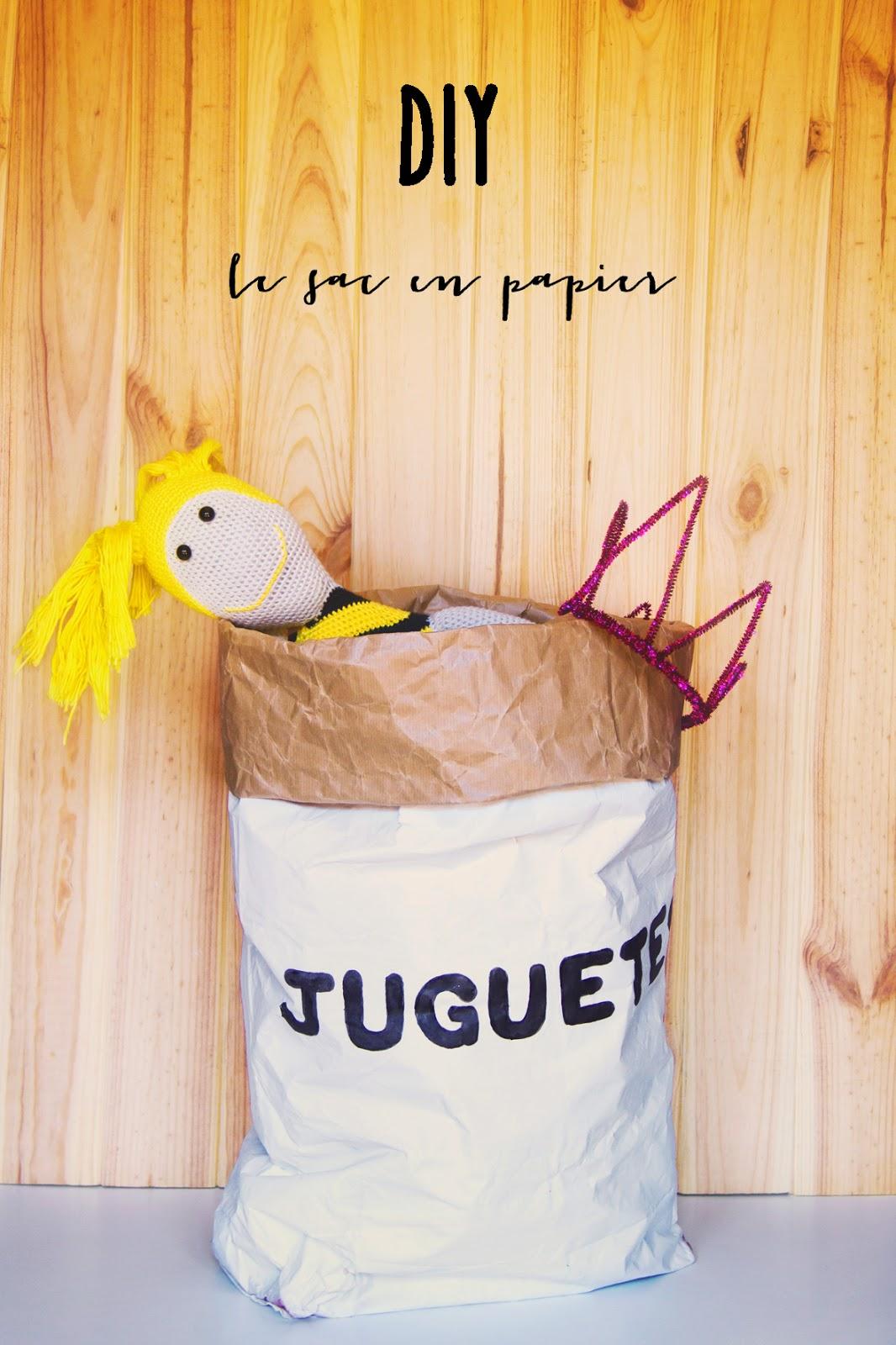 la cardelina y la alegria de la huerta diy le sac en papier. Black Bedroom Furniture Sets. Home Design Ideas