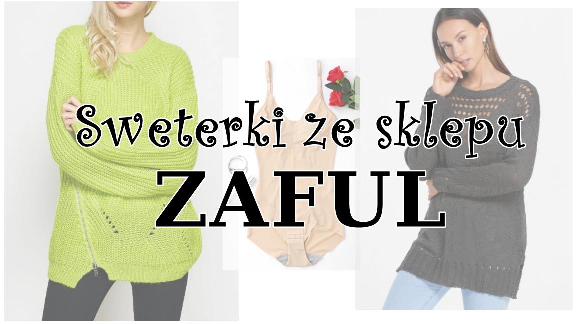 Sweterki z ZAFUL
