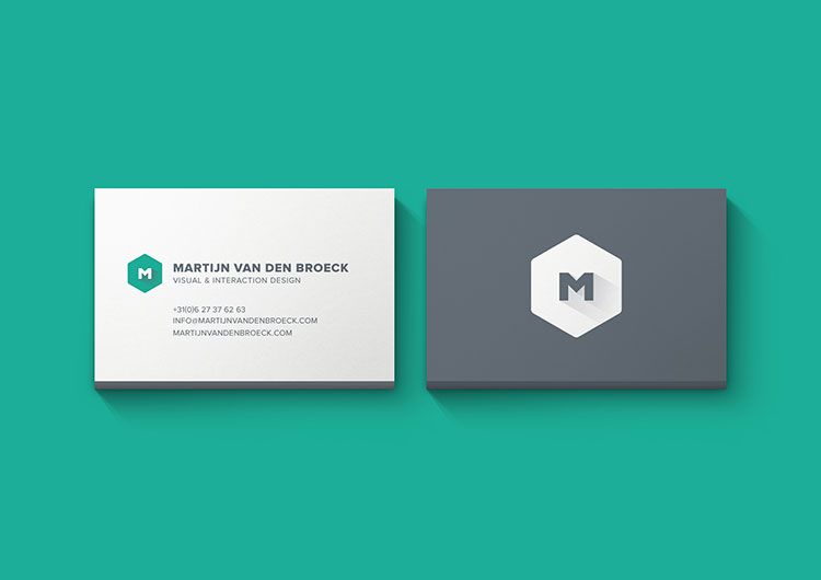 Minimal Business Cards Mockup