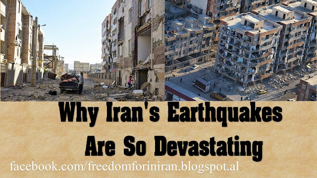 Why Iran's Earthquakes Are So Devastating