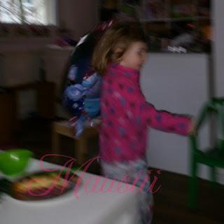 rennendes Kind