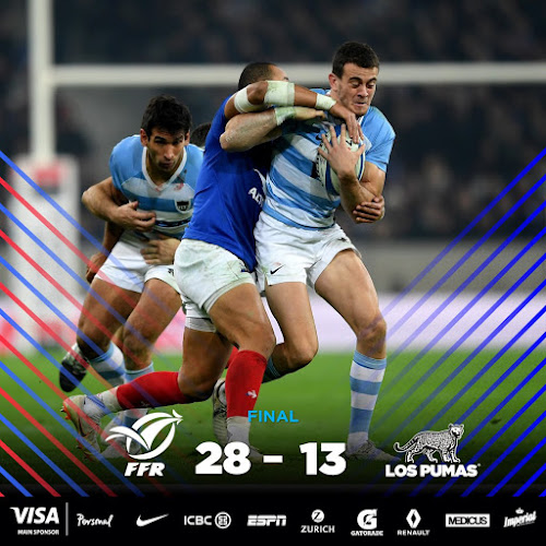 Los Pumas cayeron ante Francia en Lille
