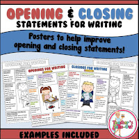 statements for opening and closings