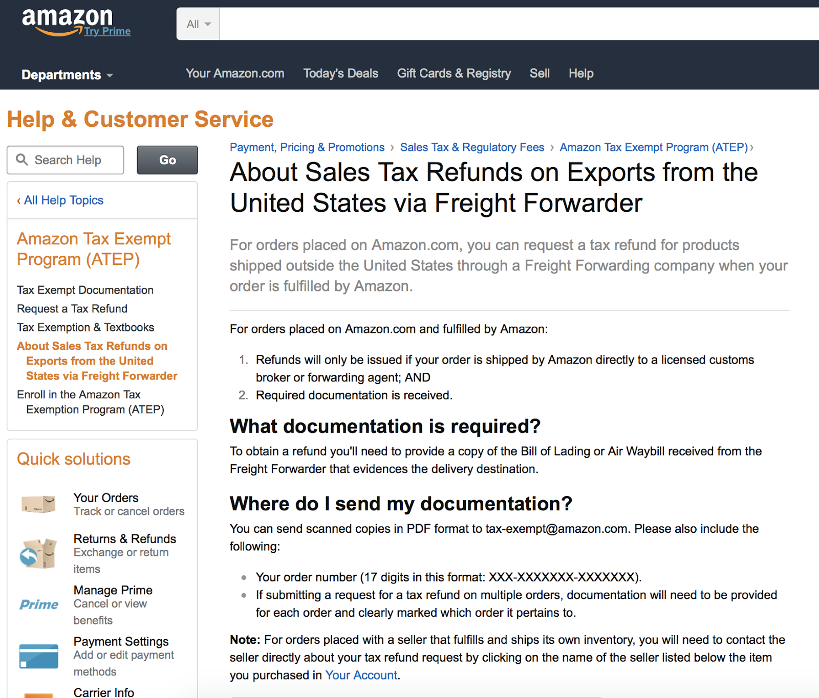 How to get a refund on your amazon prime