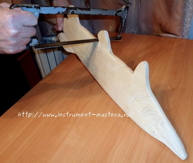 ручной гриндер из ножовки по металлу
